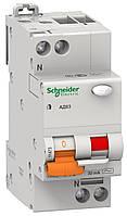Дифференциальный автоматический Выключатель Schneider Electric АД63 2п 4,5kA 0.3 C25A 11471