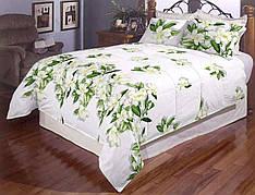 Нежные цветочки полуторное постельное белье Gold
