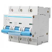 Автоматический выключатель Chint DZ158-125 3P 6kA C100A 158068