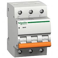 Автоматический выключатель ВА63 3П 50A C 11228 Schneider Electric