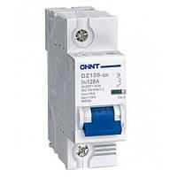 Автоматический выключатель Chint DZ158-125 1P 6kA C80A 158064
