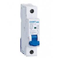 Автоматический выключатель Chint NB1-63 1P 6kA C10A 179614