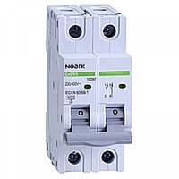 Автоматический выключатель Noark Ex9BN 2P C6 6kA 100124