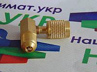 Адаптер-переходник Value V-03 под 90° ВН 1/4-НР 5/16, фото 1