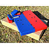 Стол для армрестлинга Троян красно-синий, фото 3