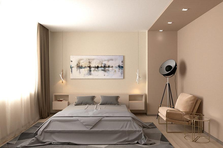 Дизайн спальни Мосса