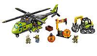 """Конструктор Bela Urban 10640 (аналог Lego City 60123) """"Грузовой вертолет исследователей вулканов"""""""