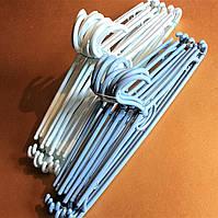 Вешалки пластиковые 40 см (темные цвета)