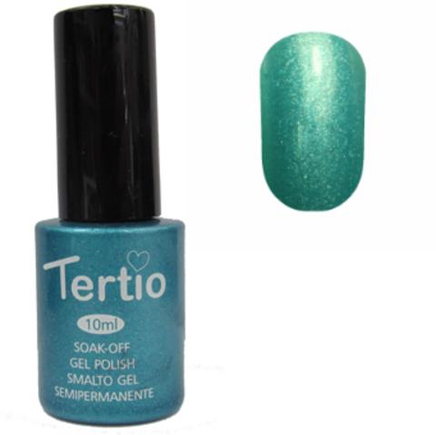 Гель-лак №073 (цвет тифани с микроблеском) 10 мл Tertio