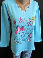 Турецкие пижамы на байке., фото 1