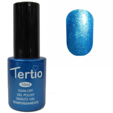 Гель-лак №076 (небесно-голубой с микроблеском) 10 мл Tertio