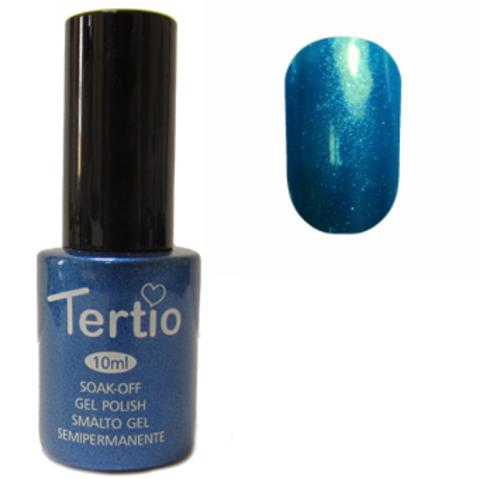 Гель-лак №077 (насыщеный ярко-синий с микроблеском) 10 мл Tertio
