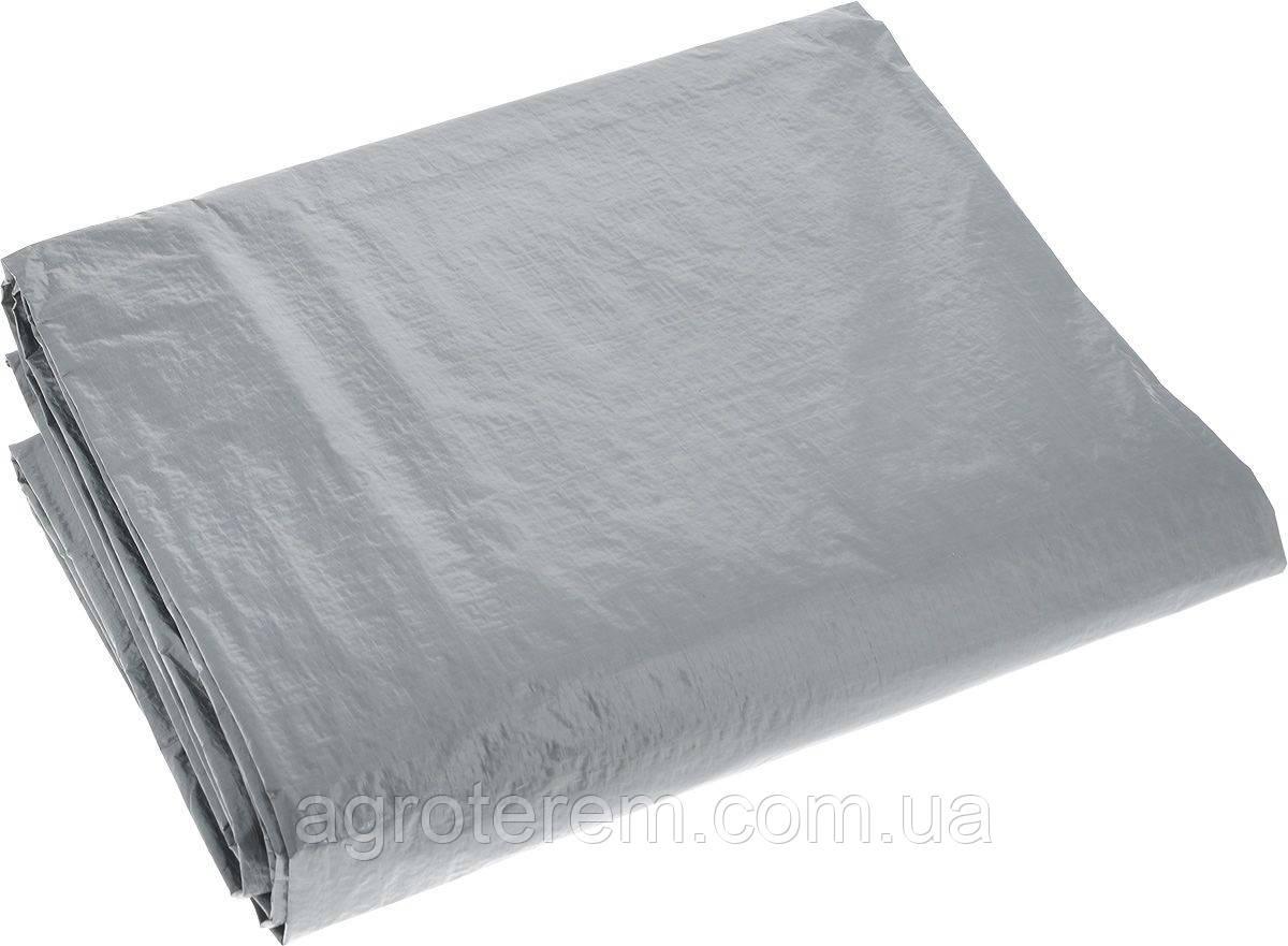 Полипропиленовый тент серый 10*15м
