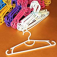 Вешалки пластиковые детские цветные 31 см