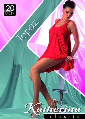 Колготки женские / жіночі Topaz 20 den (3216)  TM KATHERINA, фото 2
