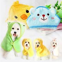 Полотенце-халат для собачки, фото 1