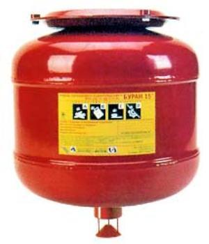 Модуль порошкового пожаротушения Буран-15И