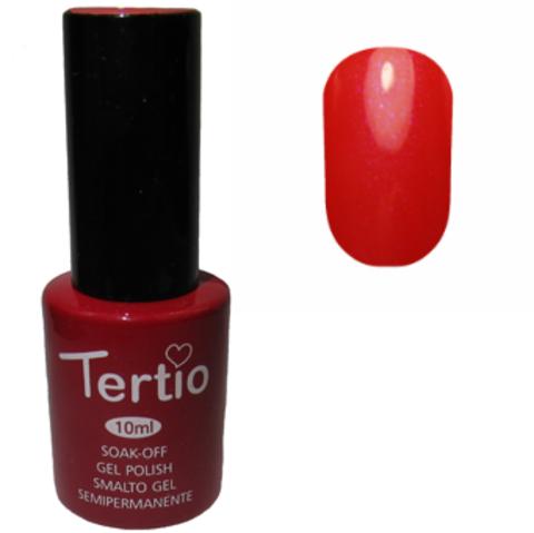 Гель-лак №109 (нежно-красный с синим микроблеском) 10 мл Tertio