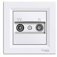 Розетка TV/R конечная (1dB) ASFORA белая EPH3300121 Schneider Electric