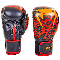 Перчатки боксерские FLEX VENUM SNAKER VL-5795-R