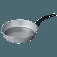 Сковорода литая алюминиевая Talko с утолщенным дном, 22 см без крышки