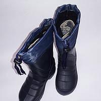 Детские сапоги со вставкой Крок, фото 1