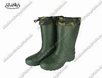 Сапоги мужские (Код: EVA-02 обшив зеленый)