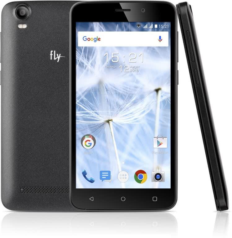 Смартфон Fly FS508 Cirrus 6 чёрный