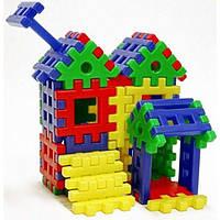 """Конструктор-пазл для маленьких """"Дом Белоснежки"""" 39 деталей, код 09.005"""