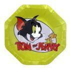 Бумажные тарелки диам.18 см Том и Джерри уп. 10 шт