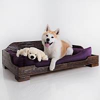 Dog Kingly Brown  - Королевская (деревянная кроватка для собак)