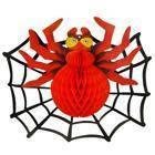 Декор 3D Паук с паутиной, фото 1