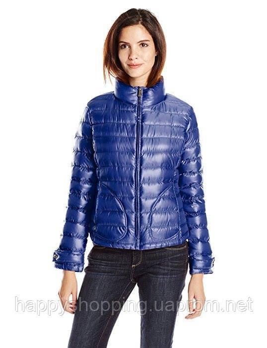 Синяя курточка на пуху Calvin Klein