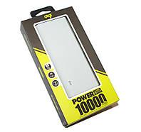 Повербанк 10000 mAh, Remax 'Proda', Grafiti, 2xUSB, 5V / 2.1A + 1A, LED индикатор, кабель USB microUSB (PPL-23 / SC-002)
