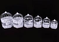 Набор декоративных клеток из металла, 6 штук