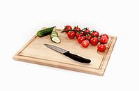 Доска разделочная для кухни,бук (42 х 32 см)