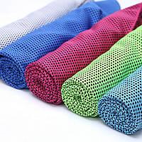 Полотенце охлаждающее для спорта и лета 100х30 см. Для тех, кто занимается спортом. Код: КГ1923