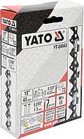 """Цепь для пил YATO YT-84943, 72 звена, 3/8"""", 18"""" (45 см), Польша"""