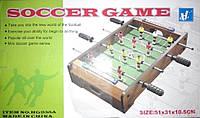 """Детский настольный футбол """"Soccer Game"""" на штангах, код HG 235 A"""