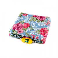 Электрическая простынь Lux Electric Blanket Pink Flowers 140×155 см