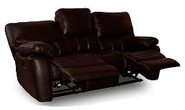"""Кожаный трехместный диван с реклайнером """"SEATTLE"""" (Сиэтл)"""