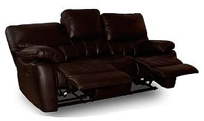 """Кожаный трехместный диван с реклайнером """"SEATTLE"""" (Сиэтл), фото 2"""
