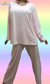 Купить пижамуженскую большого размера. Размеры от 54 до 64.