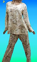 Купить пижамуженскую большого размера. Размеры от 54 до 64. 667-2