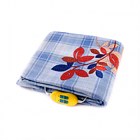 Электрическая простынь Lux Electric Blanket Blue 140×155 см