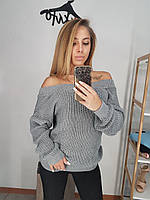 Женский свитер на одно плечо ВФ-164