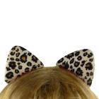 Заколки ушки Леопарда уп. 12 шт.