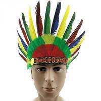 Шапка Индейца с перьями