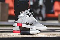 Кроссовки Adidas TUBULAR INVADER STRAP GRAY 41