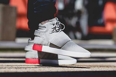 Кроссовки Adidas TUBULAR INVADER STRAP GRAY